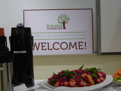 Kohlelet fellowship graduations 2015