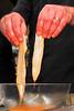 Eventjes in eigeel dompelen<br /> Restaurant Deleu - Rijselstraat 259 - Menen<br /> Dinsdag 15 mei '12<br /> <br /> Sumergir brevemente en yema de huevo<br /> Restaurante Deleu - Rijselstraat 259 - Menen - Bélgica<br /> Martes 15 de mayo de 2012