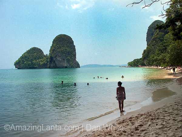 Railay Beach, Krabi, Thailand.