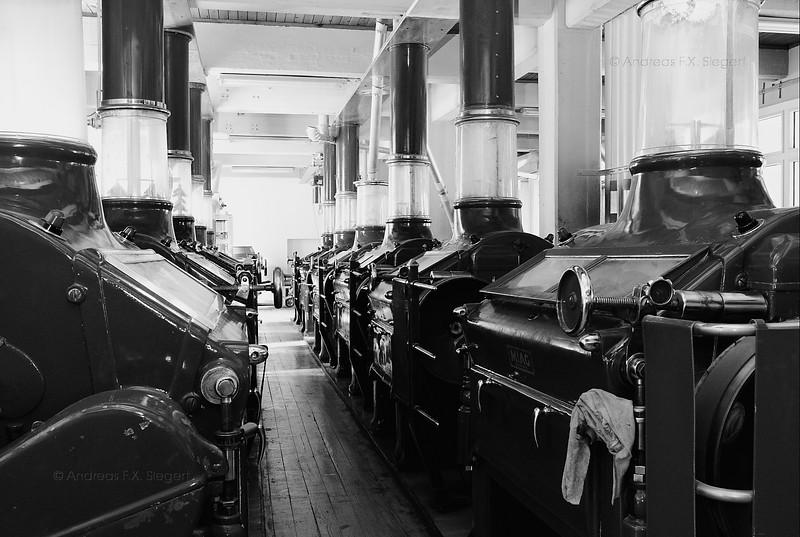 Flour mills, short before beeing dismantled
