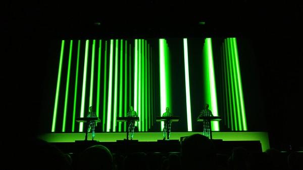 Kraftwerk Usher Hall Edinburgh June 10th 2017