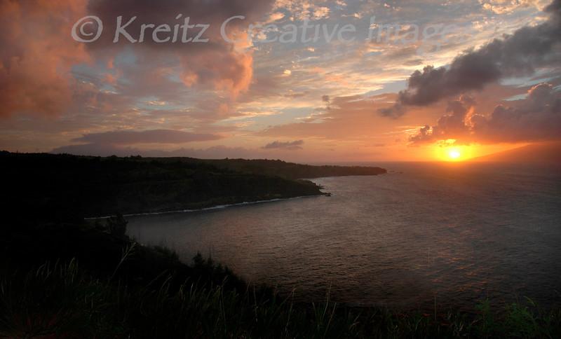 Maui Sunset<br /> © Kreitz Creative Images, Palo Alto, CA