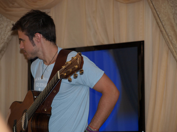 Kris Allen - Mix 96 Music Lounge - 7/3/2010