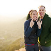 Kristen and Joe Proposal : Bishop's Peak, SLO