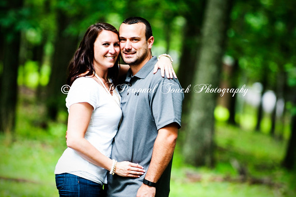 Kristy and Brian's engagement pictures