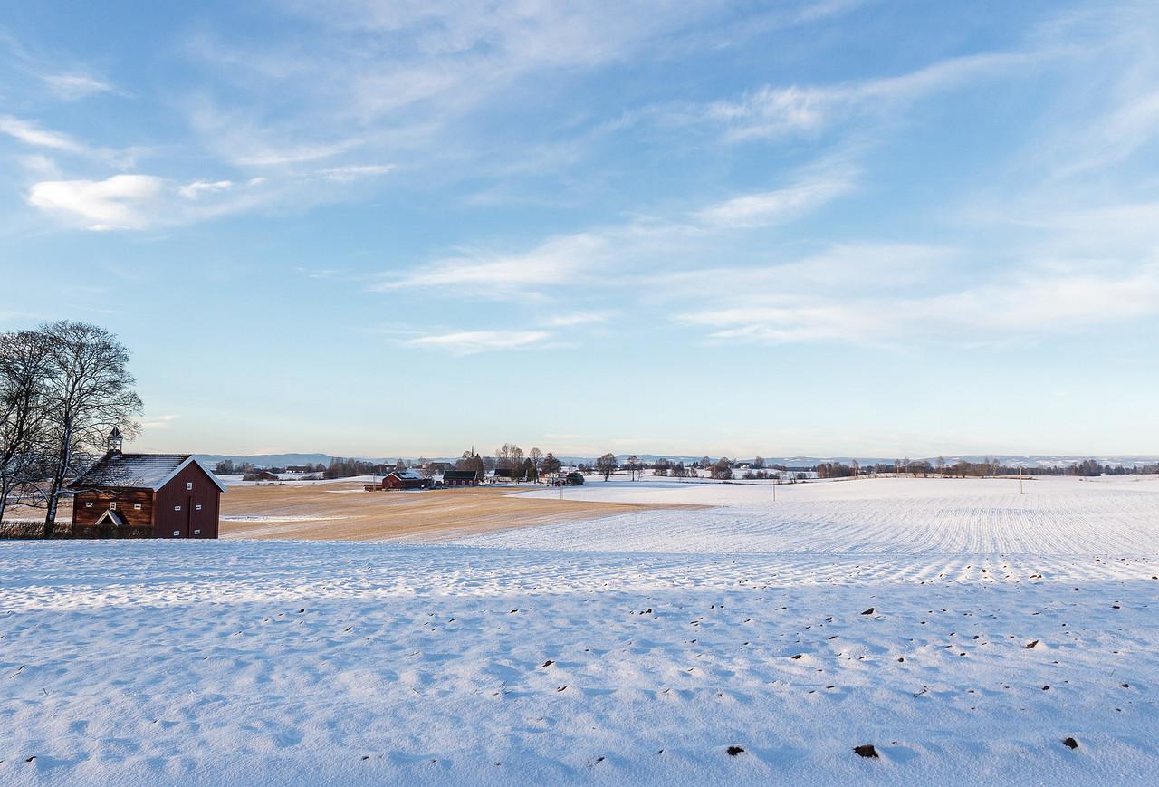 Såstad gård mot Hammerstad