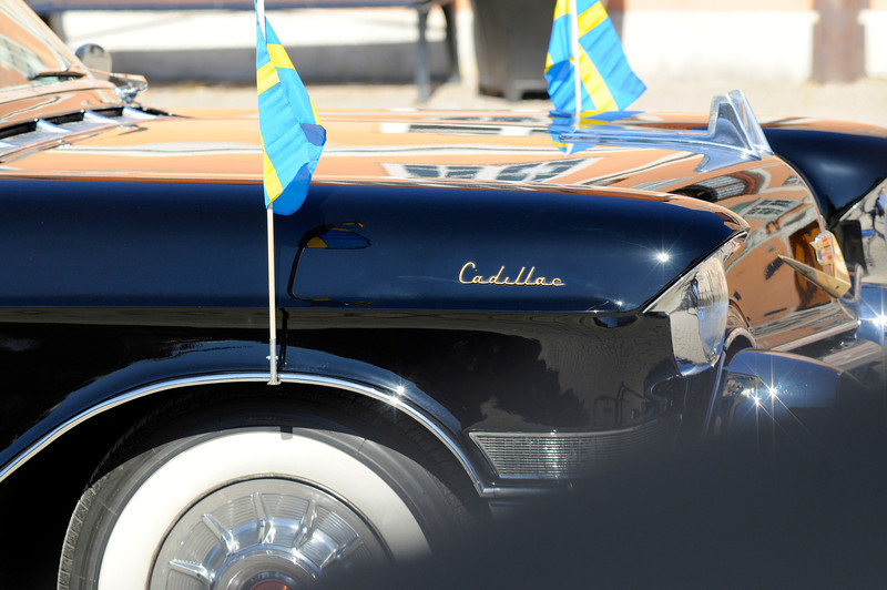 Cadillac som tillhört Kung Gustaf VI Adolf.
