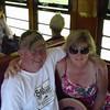The adventurers on the train to Kuranda