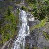 The Bridal Veil Falls taken from the Kuranda Express