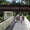 Arrived Kuranda Railway Station
