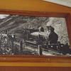 The original Kuranda Express taken from a photograph on the Express