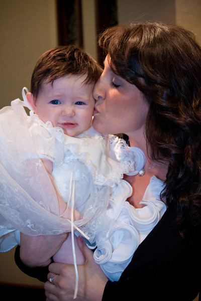 Kylie, Aubrey and Lila Christening