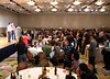 At the conference banquet. Best paper awards.<br /> <br /> Na bankiecie konferencyjnym. Przyznawanie nagrod za najlepsze artykuly.
