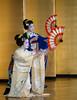 Geisha dance.<br /> <br /> Taniec.