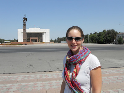 Bishkek. Very Soviet - wide roads, large squares and lots of monuments.