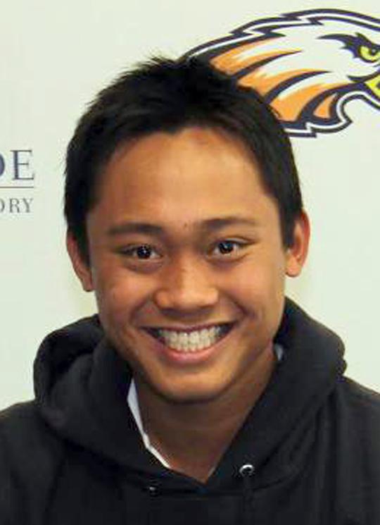 . Justin De Los Santos, Chaminade High School, Golfer Of The Year.