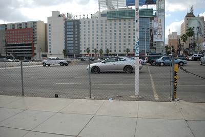 N El Centro & Hollywood - First used in the third episode of season1.  A woman is holding a gun on Tom Sizemore on a movie set. It was also used in season 4 - Cooper and Tang watch as a car circles backward in a parking lot.  Cooper jumps in and stops the car.