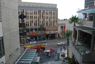 El Capitan Theater - across the street from the Kodak Theater