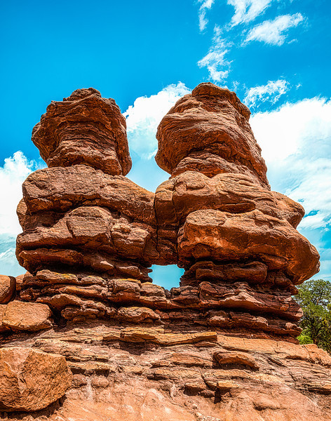 Siamese Twins, Colorado, USA