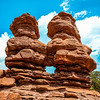 Siamese Twins, Garden of the Gods, Colorado, USA