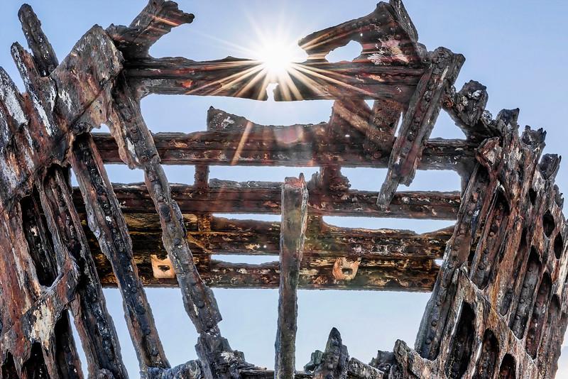 Shipwreck, Oregon, USA