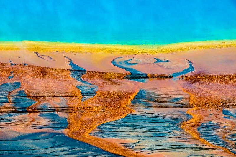 Grand Prismatic, Yellowstone, Wyoming, USA