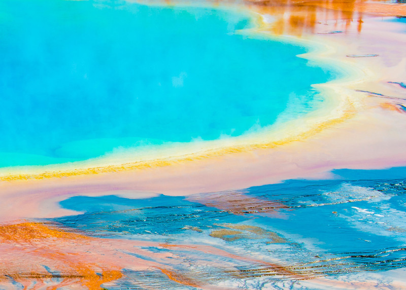 Grand Prismatic, Yellowstone, Wyoming, USA
