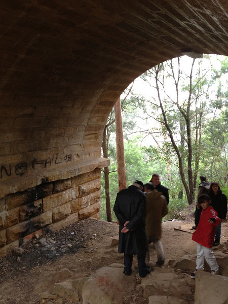 The southernmost archway of Knapsack Bridge. A great spot to camp.