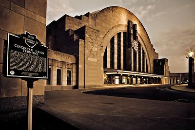 Cincinnati's Union Terminal
