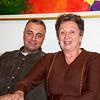 Maria Elisa con suo figlio, Angelo (vecchia foto scattata da noi a New York).