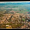 Una grandissima foto di Perugia nel Museo Archeologico.