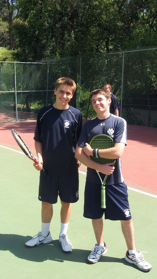 The doubles dream team of Griffin C and Vincent CF