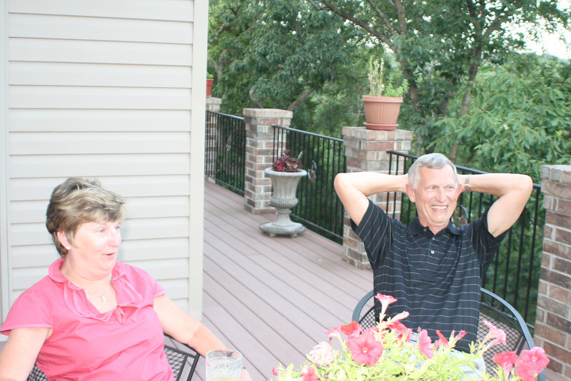 Pam and Terry Strang.