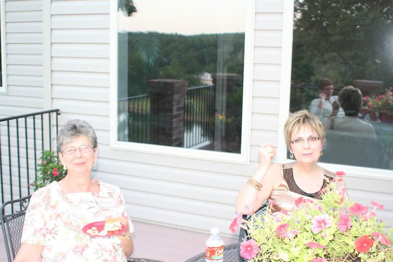 Barbara Whitesell and Pat.