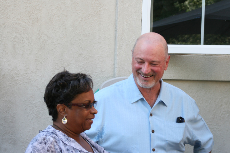 Cynthia Hines Boxdell and Ron B.