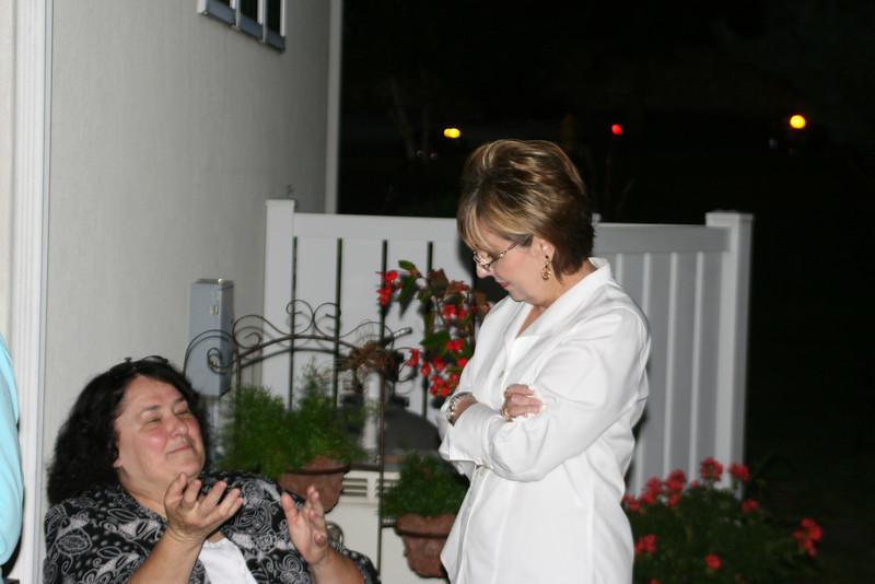 Nancy Ehlers White and Pat C.