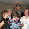 L to R:  Sandy E, Joe R, Linda D, (Ed Estabrook in background), Ron B, Aldyn J