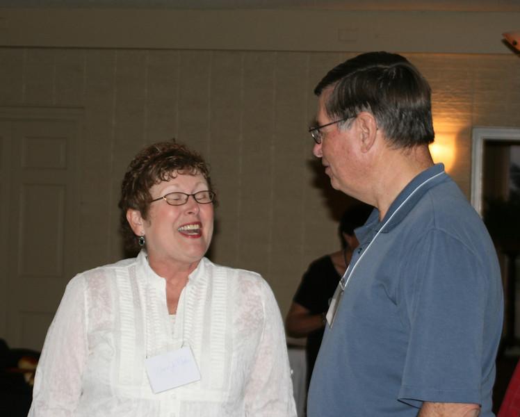 Lana Jo Mathis and John Hilton