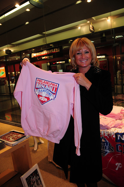 Donna Lee Jones is shopping for a shirt for herself