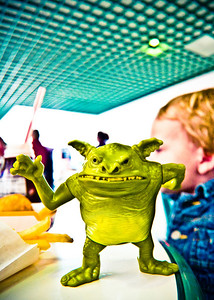 Goblin at lunch