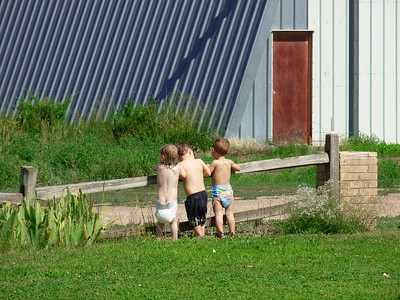 Cousins on the Farm