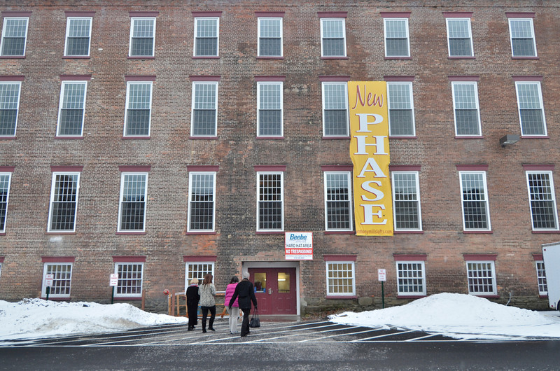 J.S.CARRAS/THE RECORD A tour Thursday, January 16, 2014 at Lofts of Harmony Mills West in Cohoes, N.Y..