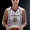 MAY2010 Indoors Individual Photos during  Phoenix Mercury Media Day.  Multiple Alien Bees used against black background.
