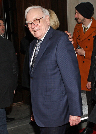 Chapter 19, TA19.17 / New photo of Warren Buffett. (These all all from the last 6 months)<br /> <br /> Choice 1 of 10<br /> <br /> NEW YORK, NY - JANUARY 18:  Warren Buffet attends the grand re-opening of Jay-Z's 40/40 Club on January 18, 2012 in New York City.  (Photo by Bennett Raglin/WireImage)