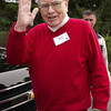 Chapter 19, TA19.17 / New photo of Warren Buffett. (These all all from the last 6 months)<br /> <br /> Choice 4 of 10<br /> <br /> Warren Buffett, chairman and chief executive officer of Berkshire Hathaway Inc., arrives for a morning session at the Allen & Co. Media and Technology Conference in Sun Valley, Idaho, U.S., on Friday, July 13, 2012. Some of the  media industry's largest buyouts have been hatched or moved forward at Sun Valley, including Comcast Corp.'s 2011 purchase of NBC Universal. Photographer: David Paul Morris/Bloomberg via Getty Images