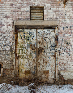 Old Warehouse Door