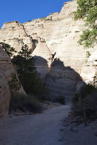 Entry to the trail to the top of the mesa.