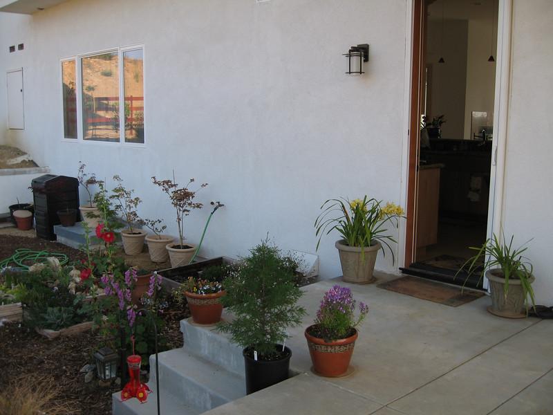 4/30/07 Arleen's cottage/herb garden.