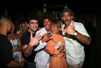 Tripp Anderson, Laurie Bonilla, Felix bonilla