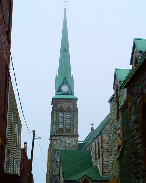 Church in St John, New Brunswick